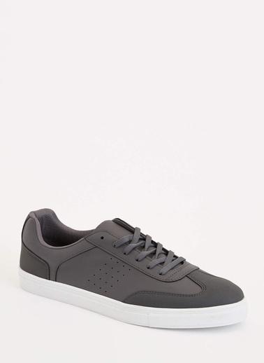 DeFacto Bağcıklı Sneaker Antrasit